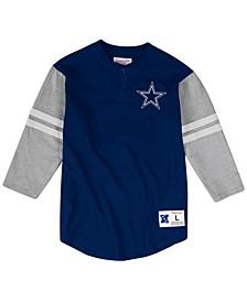 Men's Dallas Cowboys Team Logo Henley Top