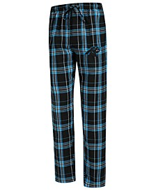 Men's Carolina Panthers Hillstone Flannel Pants