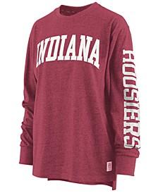 Women's Indiana Hoosiers Canyon Long Sleeve T-Shirt