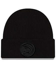 Atlanta Hawks Blackout Knit Hat