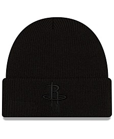 Houston Rockets Blackout Knit Hat