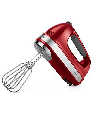 Kitchenaid Khm7210 7 Speed Hand Mixer - Electrics - Kitchen - Macy'S