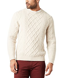 Men's Alpha Cable Sweatshirt, Created For Macy's