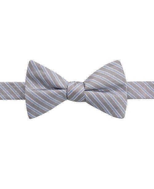 Ryan Seacrest Distinction Men's Juniper Stripe Bow Tie