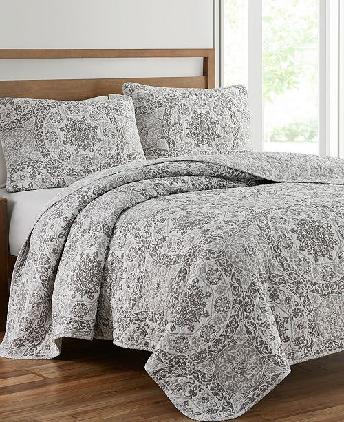 Mytex Ravenna 3-Piece Queen Quilt Set