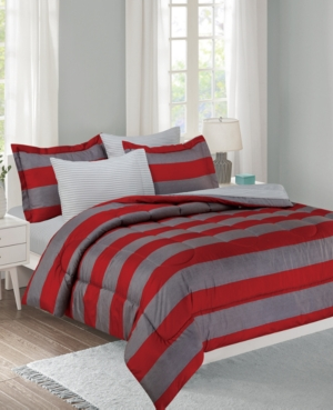 Show Ur Colors 11-Piece Full Bed in a Bag Set Bedding