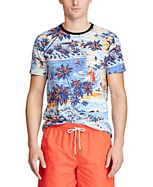 Men's Big & Tall Classic Fit Tropical T-Shirt