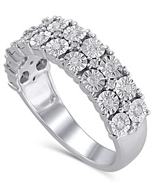 Certified Diamond (3/8 ct. t.w.) Anniversary in 14K White Gold
