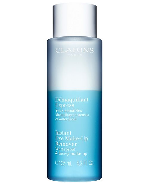 Clarins Instant Eye Make-up Remover Lotion, 4.2 oz