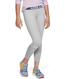 Girls' HeatGear® Armour Heather Ankle Crop