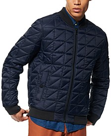 Men's Bugby Quilted Bomber Jacket