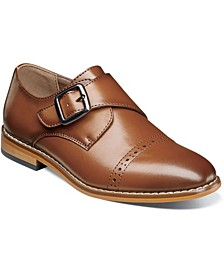 Big Boy Desmond Cap Toe Monk Strap Shoe