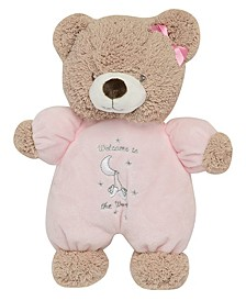 Welcome to the World Plush Bear