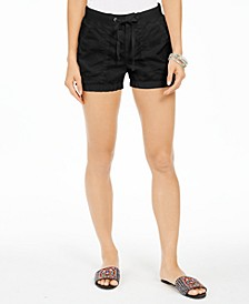 Poplin Tie Shorts, Created for Macy's