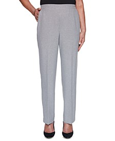 Riverside Drive Textured Pull-On Pants