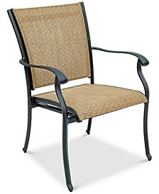 Beachmont II Outdoor Dining Chair, Created for Macy's