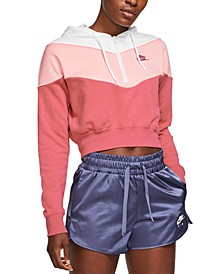 Women's Sportswear Heritage Half-Zip Hoodie