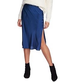 Charmeuse Midi Skirt