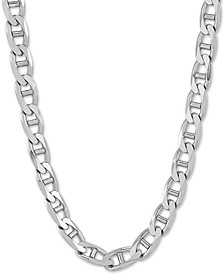 "Mariner Link 22"" Chain Necklace in Sterling Silver"