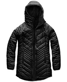 The North Face Women's Mossbud Hooded Fleece-Lined Reversible Parka