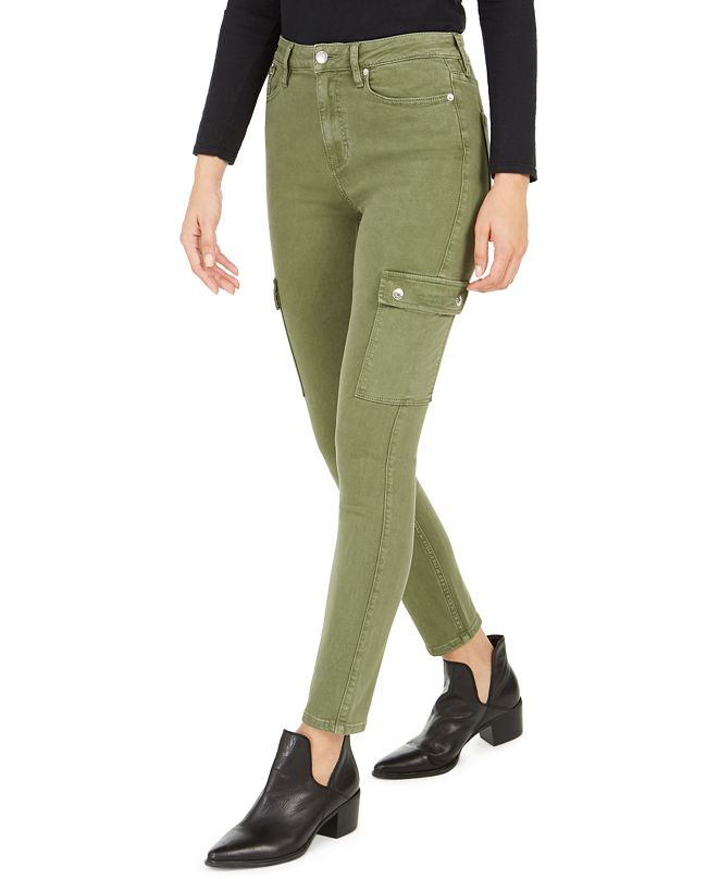 Calvin Klein Jeans High-Rise Skinny Cargo Jeans