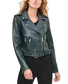 Levi's® Women's Faux-Leather Moto Jacket