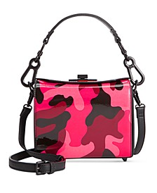 Trish Camo Box Bag with Top Lock