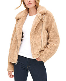 Levi's® Women's All Over Sherpa Motorcycle Jacket