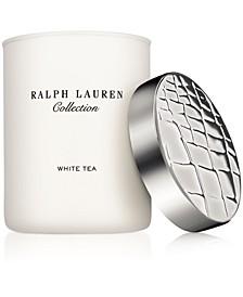 White Tea Candle, 7.41-oz.