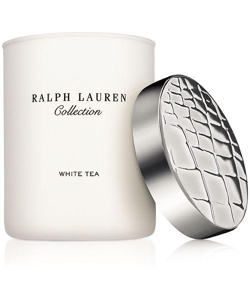 Ralph Lauren White Tea Candle, 7.41-oz.