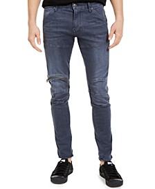 Men's 5620 Skinny-Fit Zip-Knee Jeans