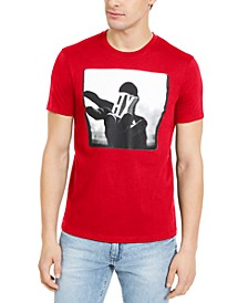 Men's Slim-Fit AX Hand Graphic T-Shirt