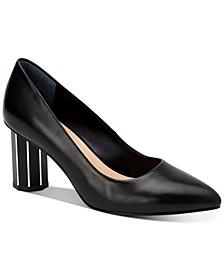 Step N Flex Pepperr Geometric-Heel Pumps, Created for Macy's