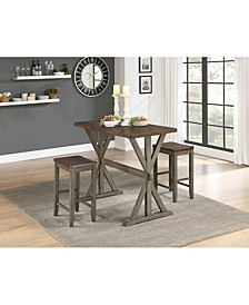 Coring Counter Height Dining Set