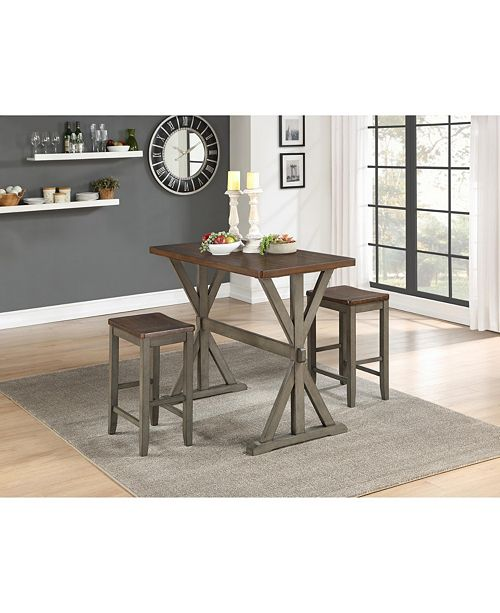 Furniture Coring Counter Height Dining Set
