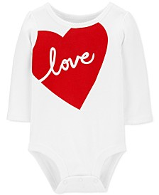 Baby Boys & Girls Love Cotton Bodysuit