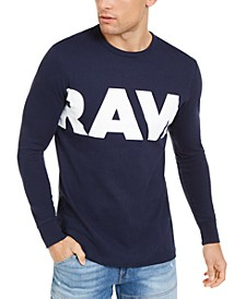 Men's Vilsi Logo Long Sleeve T-Shirt