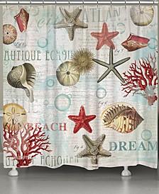 Dream Beach Shells Bath Collection