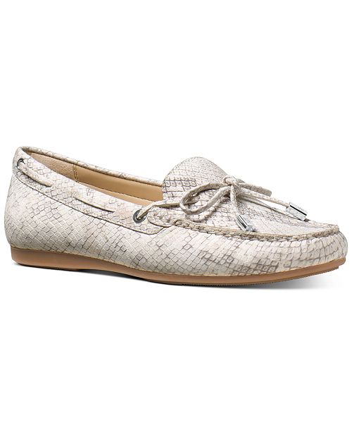 Michael Kors Sutton Moc-Toe Flats