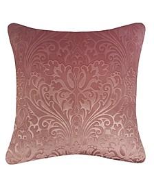 Embossed Velvet Decorative Pillow