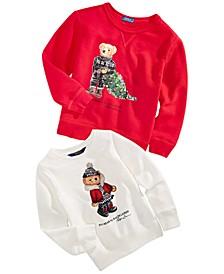 Toddler, Little & Big Boys & Girls Bear Sweatshirts