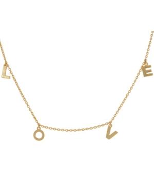 Love Dangle Necklace