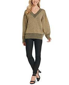 Glitter-Speck Sweater