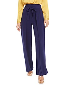 Wide-Leg Tie-Front Pants, Created for Macy's