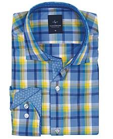 Big Boys Bright Button-Down Shirt