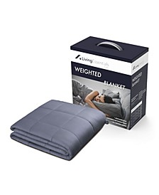 Living Essentials 15 Lbs Weighted Blanket, Twin