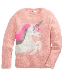 Big Girls Unicorn Sweater, Created For Macy's