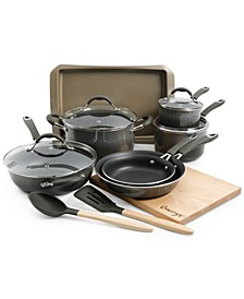 14-Pc. Nonstick Aluminum Cookware Set