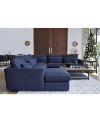 Canillo 4-Pc. Fabric Chaise Sectional Sofa, Created for Macy's