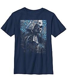 Star Wars Big Boy's Darth Vader Mosaic Z1 Short Sleeve T-Shirt